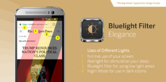 Bluelight filter elegance pro andorid night mode app