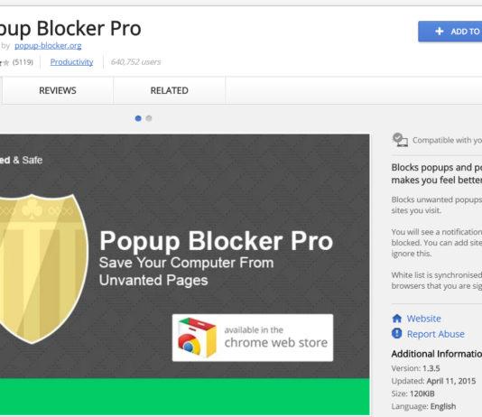 popup blocker pro chrome extension