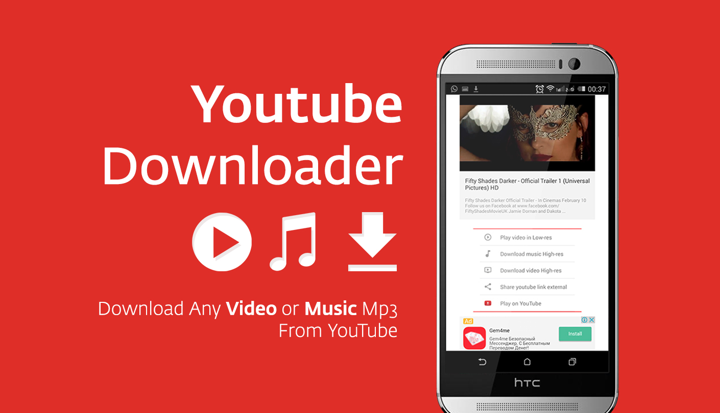 Apps For Downloading Music From Youtube Android