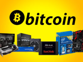 bit coin miming hardware list