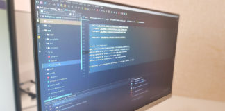 coding screen