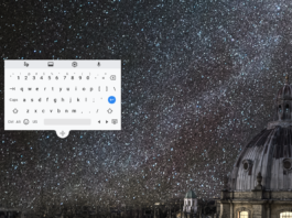 chrome new floating keyboard - chrome os 70 update