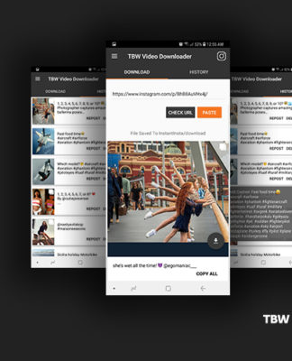 TBW Instagram Downloader