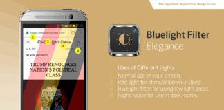 Bluelight filter elegance pro andorid night mode app