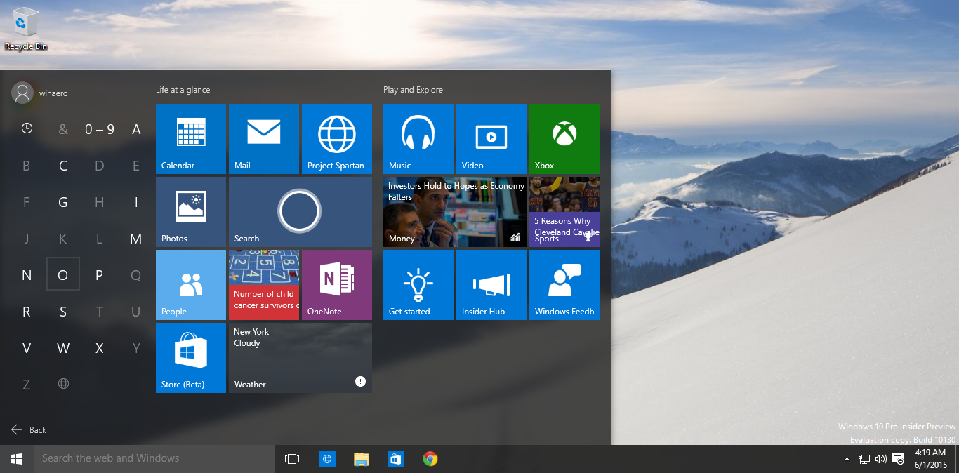 how to fix chrome icons on start menu in windows 10