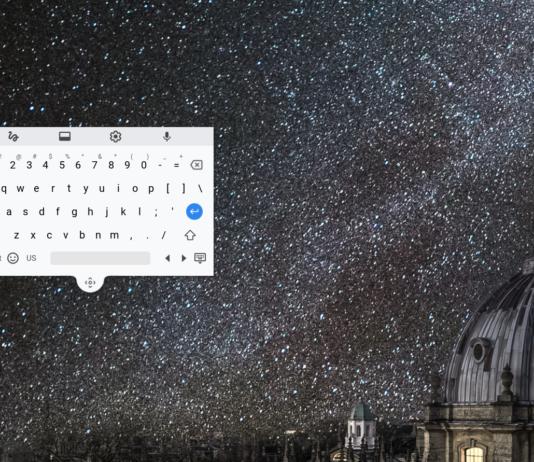 chrome new floating keyboard - chrome os 70 update