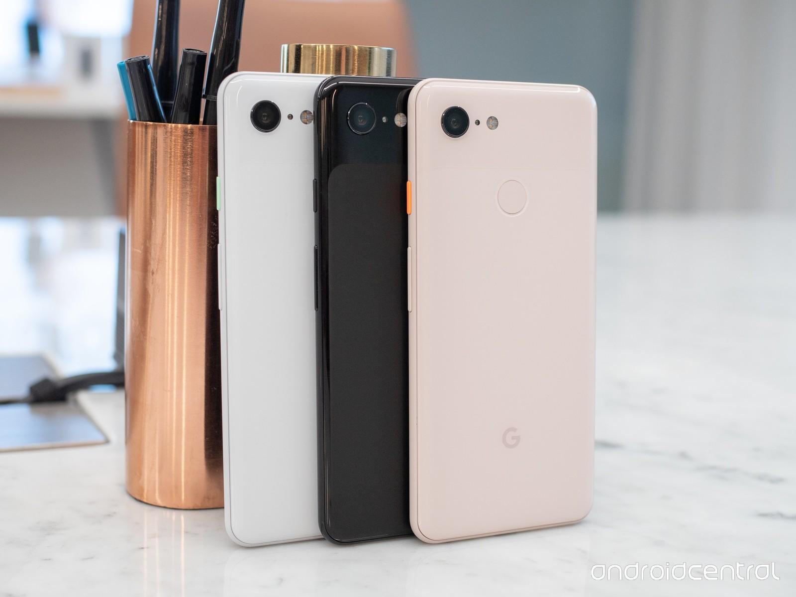 google-announcements-pixel-3-and-pixel-3-xl all colors